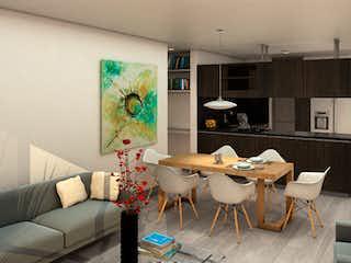 Una sala de estar llena de muebles y una televisión de pantalla plana en Acereto