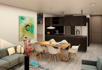 Acereto, Apartamentos en venta en Barrio Cedritos 66m²