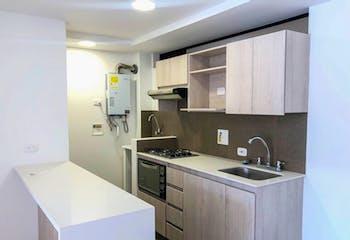 Apartamento en venta en Casco Urbano El Retiro, de 60mtrs2