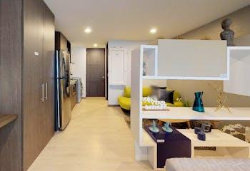 Proyecto nuevo en Urbano 48, Apartamentos nuevos en Palermo con 1 habitacion