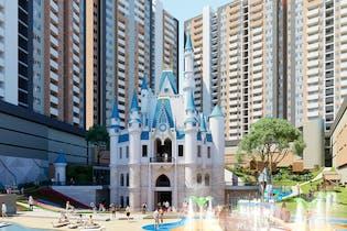 Fantasía - Castillo Grande, Apartamentos nuevos en venta en La Aldea con 2 habitaciones