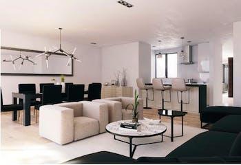 Departamento en venta en Del Valle, 139mt con terraza