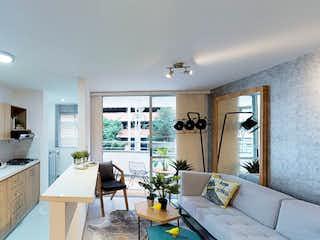 Una cocina muy bonita con un gran ventanal en Olivo