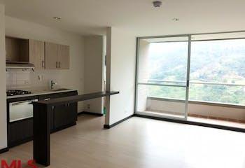 Apartamento en La Aldea, La Estrella - 90mt, tres alcobas, balcón