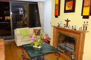 Apartamento en venta en Rincón del Chicó, 135mt con balcon