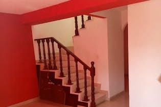 Casa en venta en Sosa Texcoco, 72mt de dos niveles.
