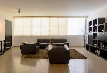 Departamento en venta en Polanco, 142mt