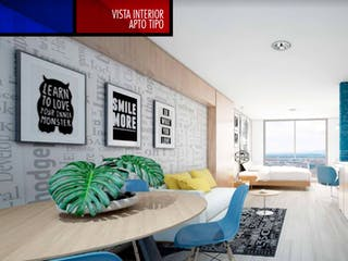 Bauhaus 4 23, proyecto de vivienda nueva en Las Nieves, Bogotá