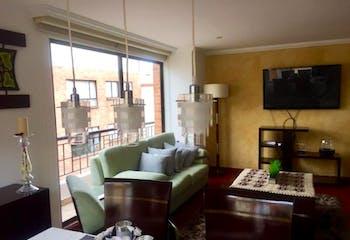 Apartamento en venta en Caobos Salazar, de 133mtrs2 Penthouse