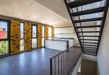 Ultimo departamento en venta en Col. Buenavista, 65 m²