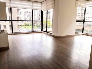 Una vista de una sala de estar desde una ventana en Apartamento en venta en Alejandria-Mazuren 4 Habitaciones