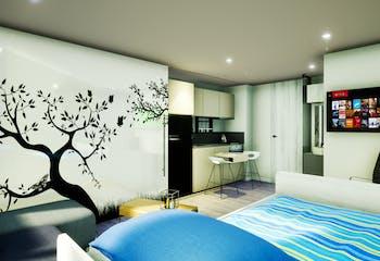 Tivoli, en en Galerías con 31m², Apartamentos nuevos en venta en Galerías con 1 hab.