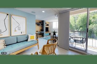 Apartamento en venta en Cuchillas de San José, 60mt con balcon