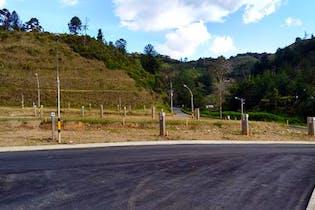 Lote en venta en Casco Urbano El Retiro de 85m²
