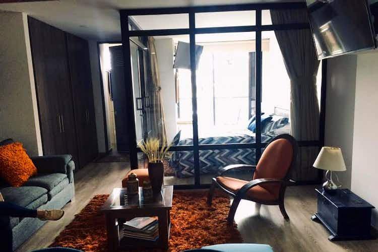 Portada Apartaestudio en venta en Santa Bárbara Central, 45mt con balcon