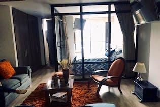 Apartaestudio en venta en Santa Bárbara Central, 45mt con balcon