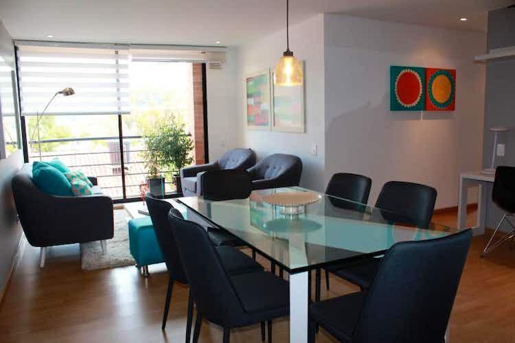 Portada Apartamento en venta en Chia, 81mt con balcon