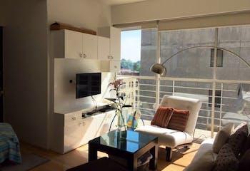 Departamento en venta en Roma, 65mt con balcon