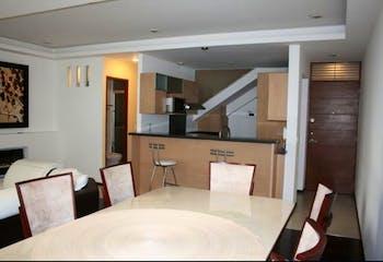 Departamento en venta en San Rafael, 110mt de dos niveles.