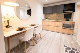 Apartamento en venta en Quinta Camacho de 1 habitacion