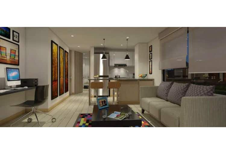 Portada Apartamento en venta en Barrio Cedritos, de 54mtrs2