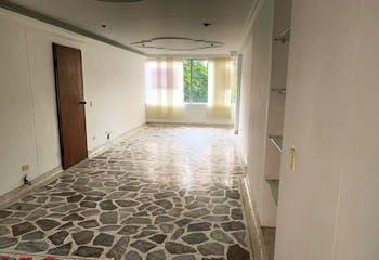 Apartamento en La Aguacatala, Poblado - 105mt, tres alcobas
