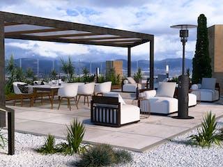 Davidia 104, apartamentos sobre planos en Santa Paula, Bogotá