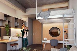 Vivienda nueva, Next Living, Apartamentos nuevos en venta en Barrio Chapinero con 1 hab.