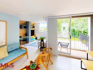 Una sala de estar llena de muebles y una ventana en Ciudadela Río Vivo