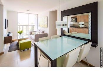 Apartamento en Fontibon, Rionegro - 57mt, tres alcobas, balcon