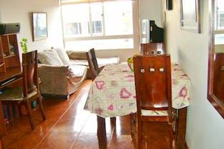 Apartamento en venta en Chapinero Occidental, 59m²