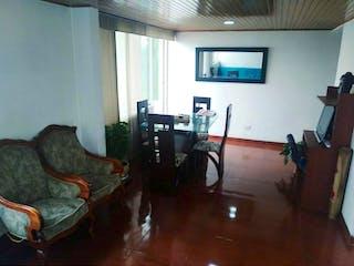 Una sala de estar llena de muebles y una televisión de pantalla plana en Edificio Atapa Ii