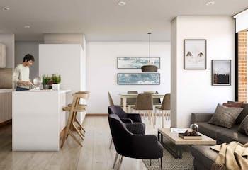 Céntrica, Apartamentos nuevos en venta en Normandía con 1 habitacion