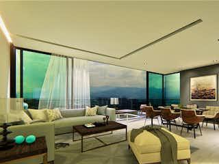 Una sala de estar llena de muebles y una gran ventana en Ottium LifeStyle