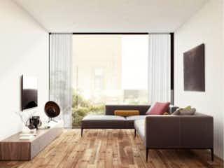 Una sala de estar llena de muebles y una ventana en Río Sena 43