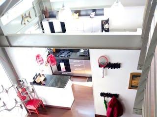 Una imagen de un refrigerador en una cocina en  EDIFICIO LA VALLE