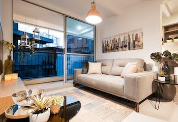Canarias, Apartamentos nuevos en venta en Restrepo Naranjo con 2 hab.