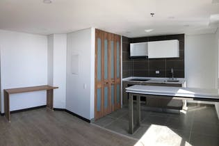 Apartamento en venta en Barrio Chapinero de 1 hab. con Bbq...