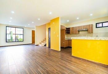 Casa en venta en Lomas de Tonalco, 167mt de tres niveles.