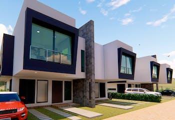 Proyecto nuevo en Buena Vista, Casas nuevas en Casco Urbano Cota con 3 habitaciones
