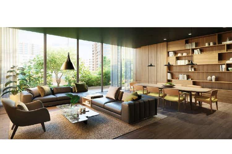 Portada Apartamento en venta en El Nogal, de 91,04mtrs2