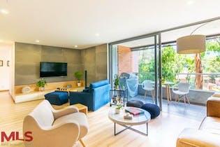 Apartamento en Loma de Benedictinos, Envigado - 144mt, tres alcobas, balcon