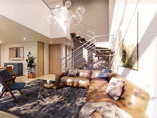 Una sala de estar llena de muebles y una chimenea en Terragrande Casas