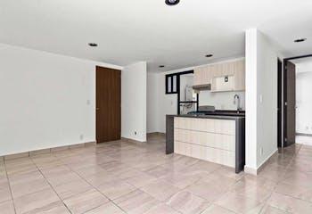 Departamento en Santa Maria la Ribera de 55 m2 con 2 recámaras