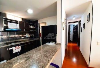 Apartamento en venta en Cajica de 57m² con Bbq...