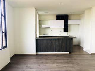 Un cuarto de baño con lavabo y bañera en Apartamento en venta en Carlos Lleras, de 93,31mtrs2