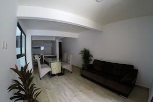 Departamento en venta en Santa Úrsula Coapa, 134mt con terraza