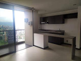 Una cocina con fregadero y nevera en Apartamento en venta en  Ciudad del Rio  de 2 habitaciones