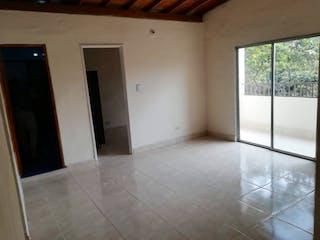 Un cuarto de baño con ducha y lavabo en Apartamento en venta en Santa Lucía, de 55mtrs2