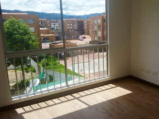 Una vista de una ciudad desde una ventana en Apartamento  en Chia, Chia, 3 Habitaciones- 93m2.